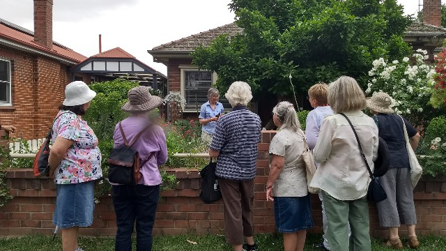 Rosemary & Thyme  Town Garden Walk