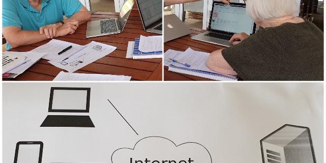 websites collage