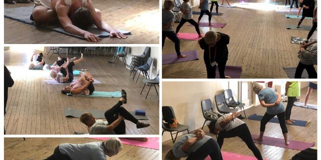 yoga adv collage